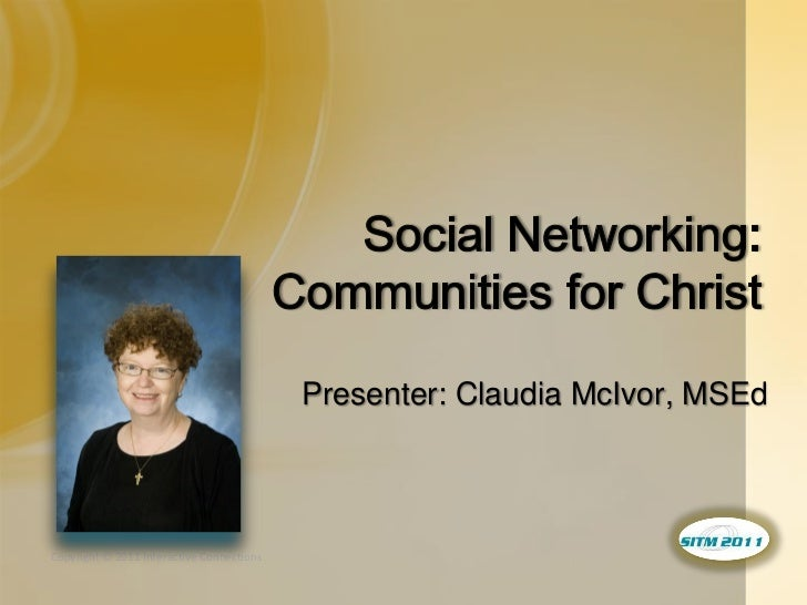Presenter: Claudia McIvor, MSEdCopyright © 2011 Interactive Connections