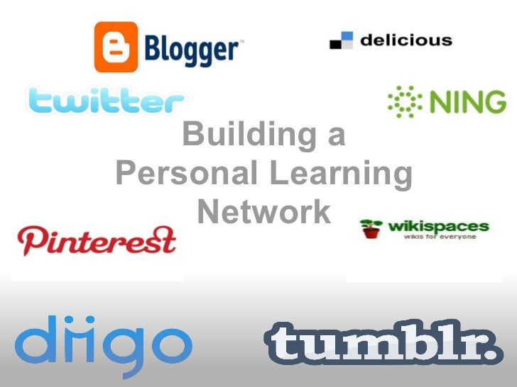Building aPersonal Learning     Network