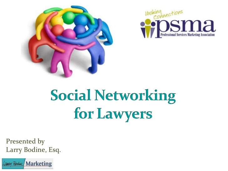 Social networking for lawyers   psma