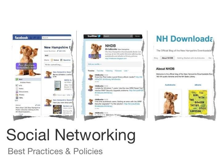 Social networking nhlta may 2011 ppt