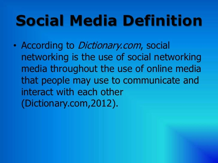 Social networking definition driverlayer search engine for Soil media definition