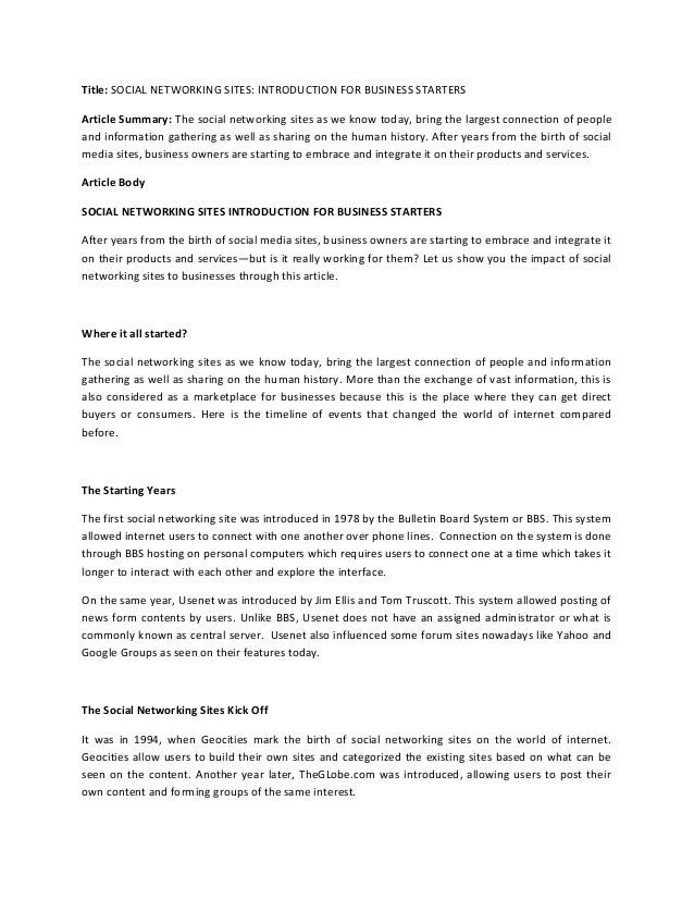sharing essay sharing