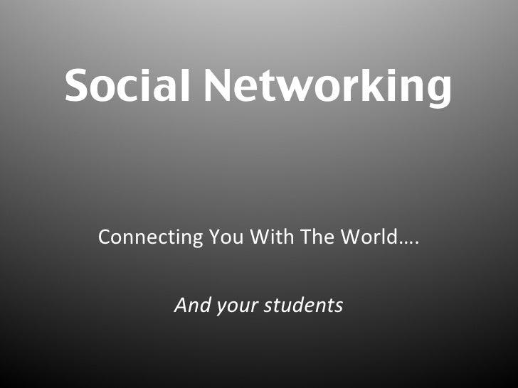 Social Networking Workshop