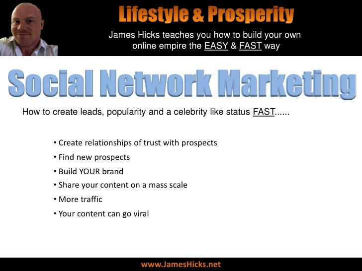 Social Network Marketing - The Secret Sauce To Explosive Results (Learn Why)
