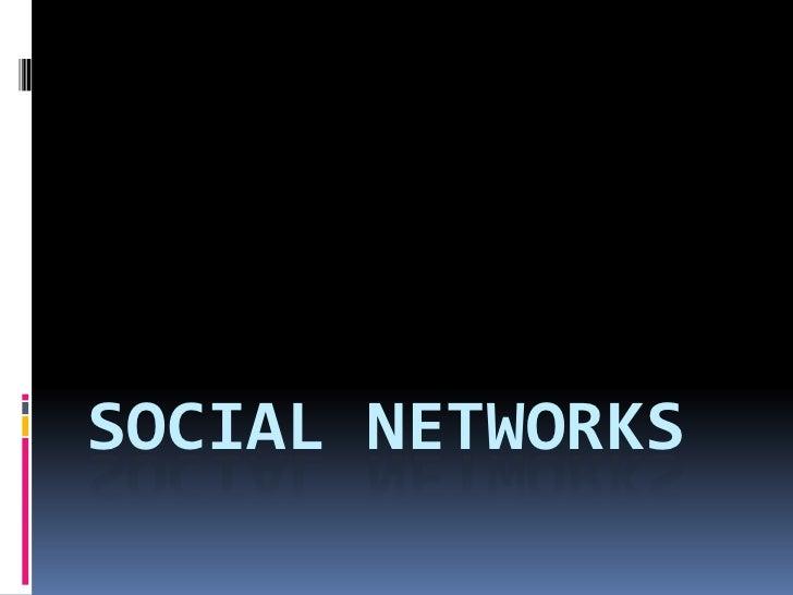 Social networkS<br />
