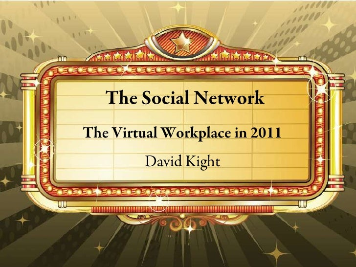 The Social Network:  Employers and Social Media