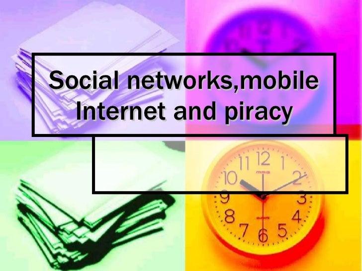 Social networks,mobile internet and games ela nikolina