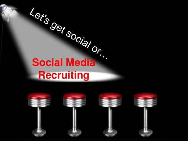 Social Networks Recruiting By Dr Gil Bozer