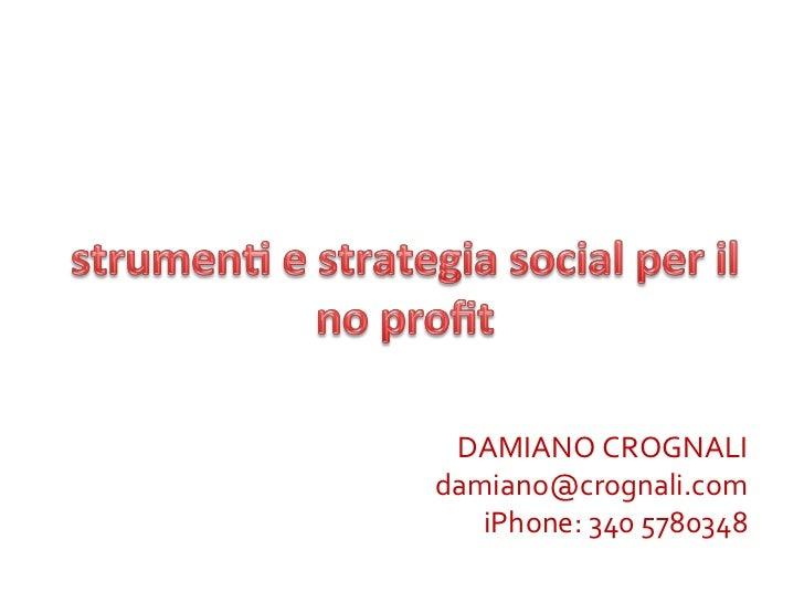 Il Social Networking nel No Profit