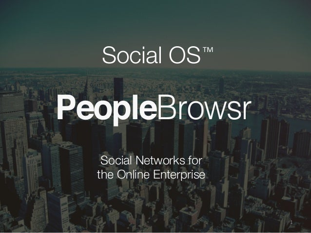 Social OS for Enterprise