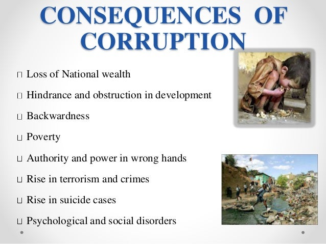 explain the psychological causes of corruption in nigeria A social psychological basis of corruption and and the collective mind can be used to explain organizational economic growth is not a cause of corruption.