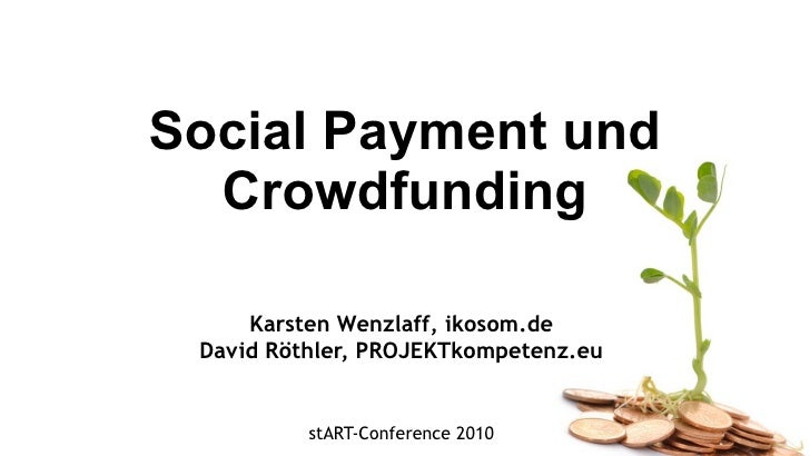 Social Payment & Crowdfunding