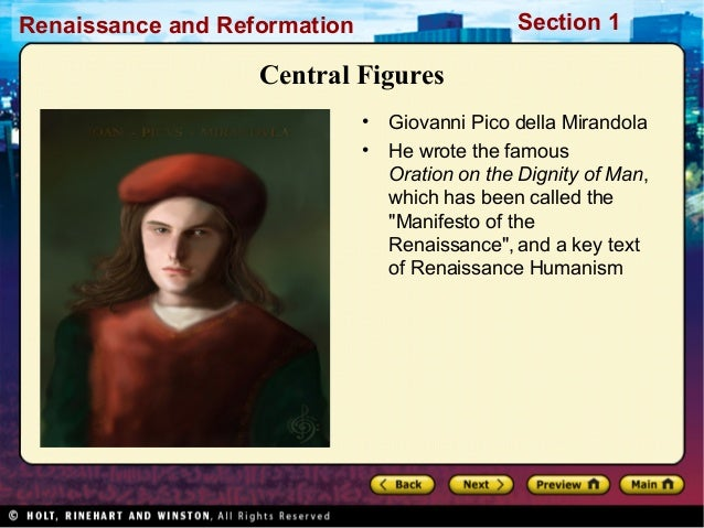 "the renaissance humanistic concept of man essay The concept of ""the renaissance in the essay, the civilization of the renaissance moreover jerry brotton states about the idea of ""renaissance man."