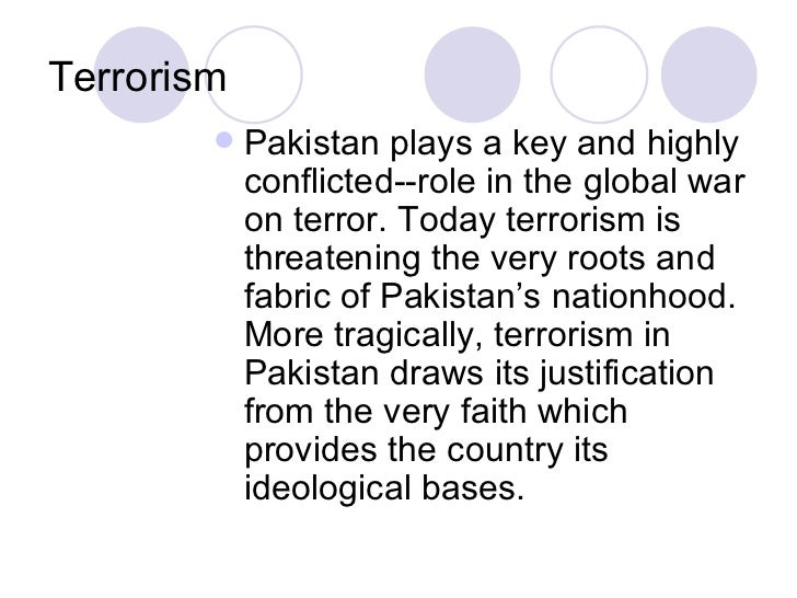 Short essay on terrorism in english