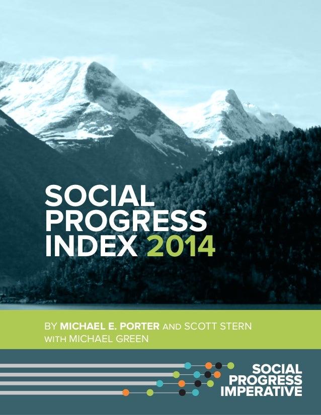 Social Progress Index 2014 Report