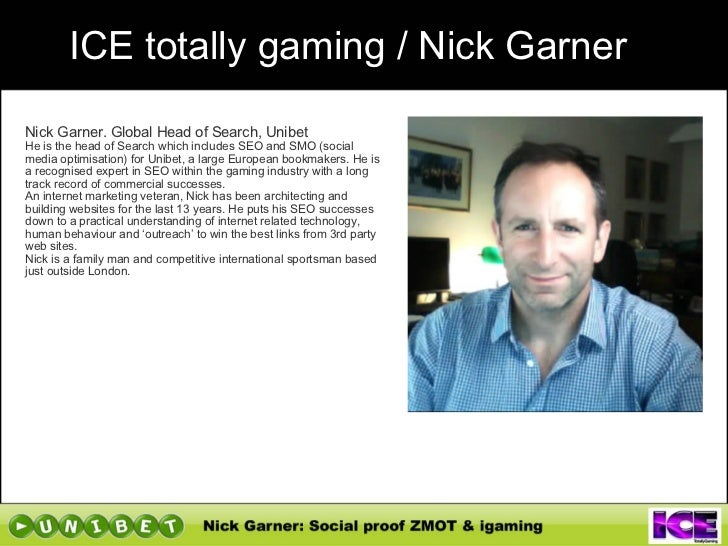 ICE Conference: Social Proof in iGaming using ZMOT