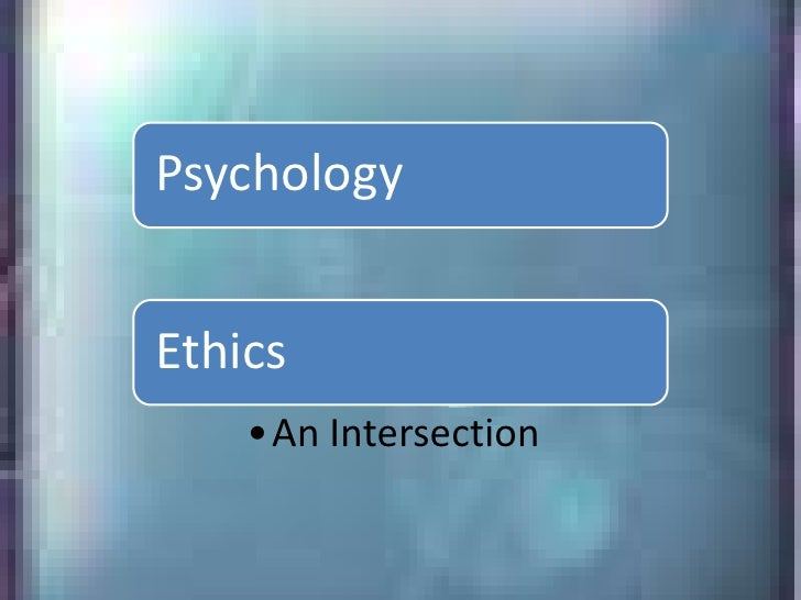 Social Psych And Ethics