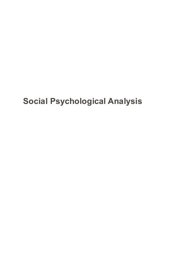 Psychology paper sample