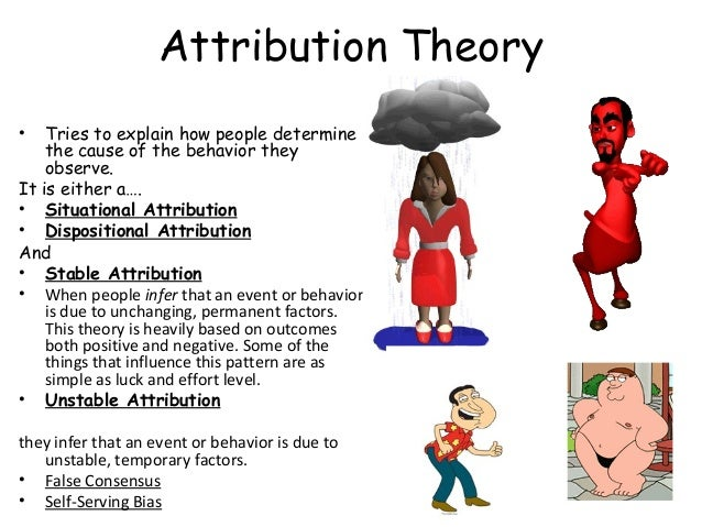 Attribution Theory Essays