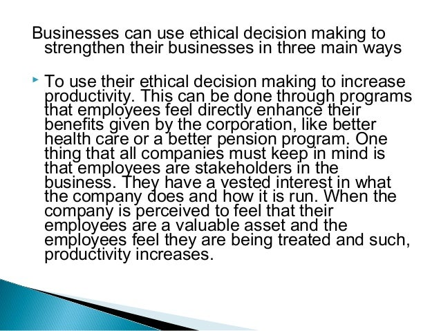 social responsibility of businesses Business ethics vs social responsibility business ethics and social responsibility are commonly used in everyday parlance almost interchangeably while social responsibility is self explanatory, ethics is a word that puts one in a dilemma.