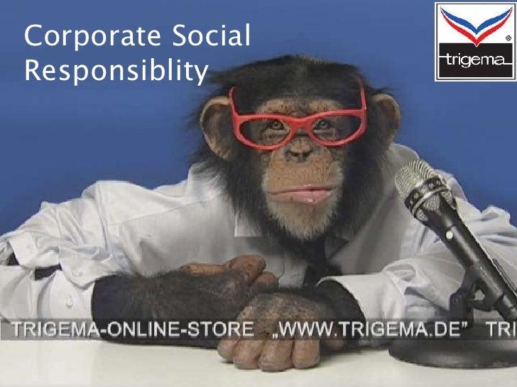 Corporate SocialResponsiblity
