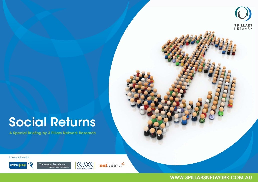 Social Returns A Special Briefing by 3 Pillars Network Research     In association with                                    ...
