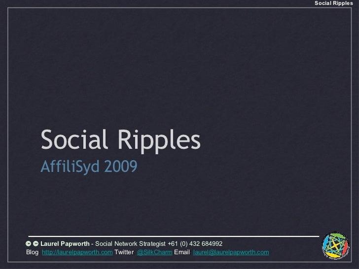 Social Ripple Social Marketing