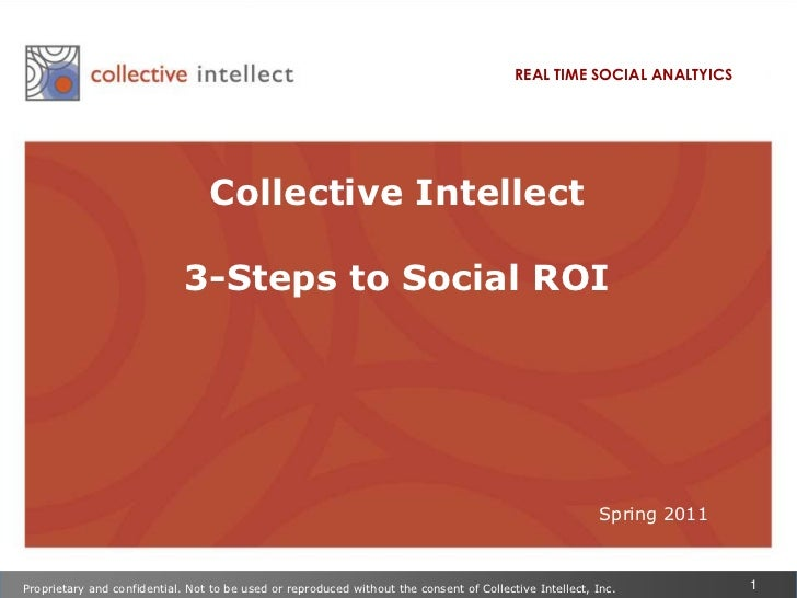 3 Steps to Social ROI