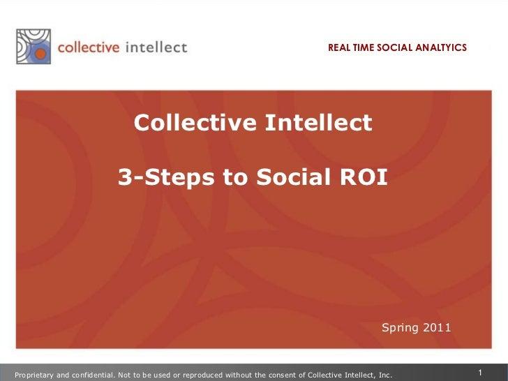 3 Steps to Social ROI