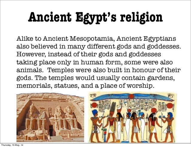 mesopotamians and egyptians religious significant similarities Definition of ancient religions of egypt and mesopotamia these gods had certain similarities death was an immensely important religious event for the egyptians.