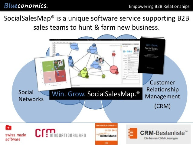 Empowering B2B Relationships.SocialSalesMap® is a unique software service supporting B2B          sales teams to hunt & fa...