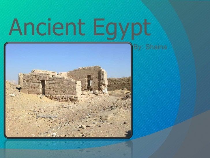 Ancient Egypt_Shaina