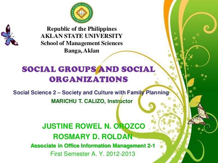 Social science 2 Social Groups