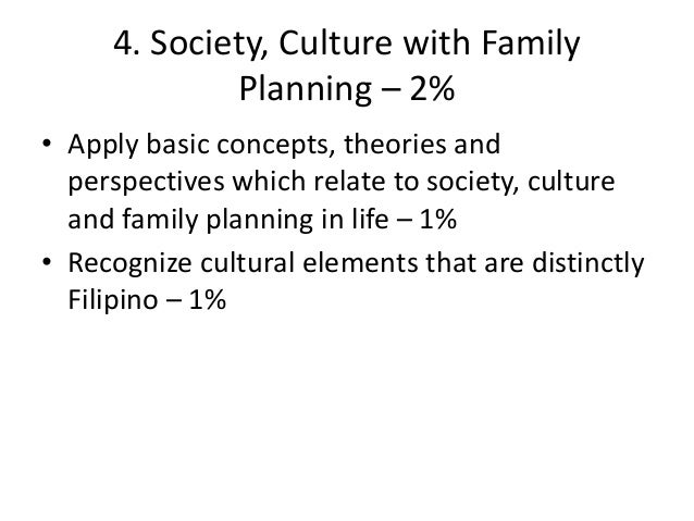 society culture and family planning