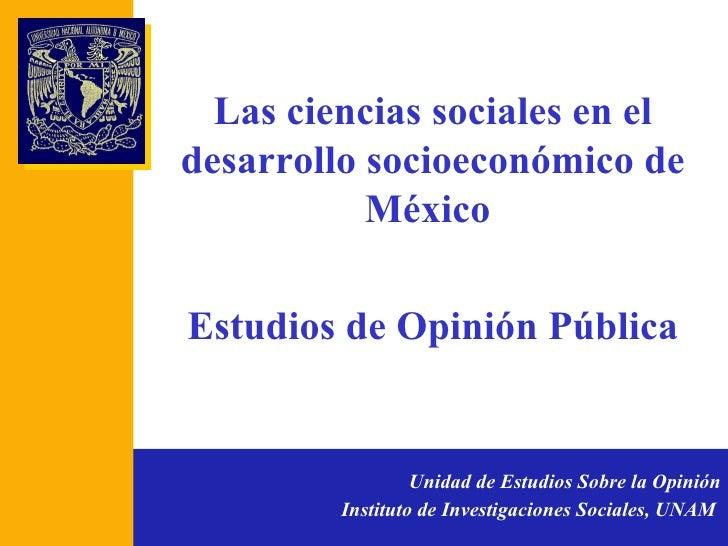Social Science From Mexico Unam 013