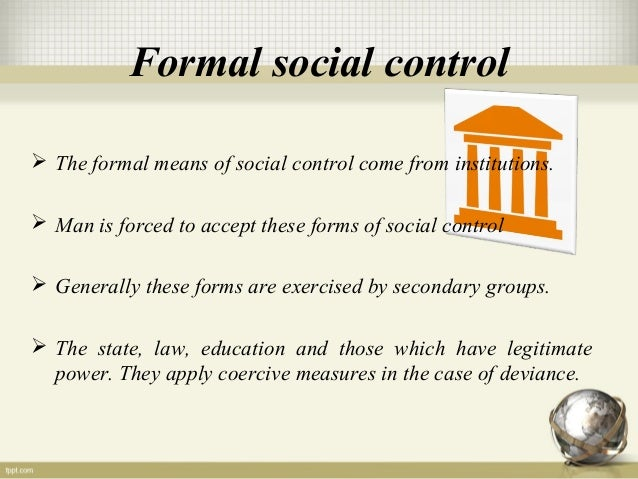 religion and social control essay Sociology of religion is the study of the beliefs,  offering emotional comfort, and creating a place for social interaction and social control.