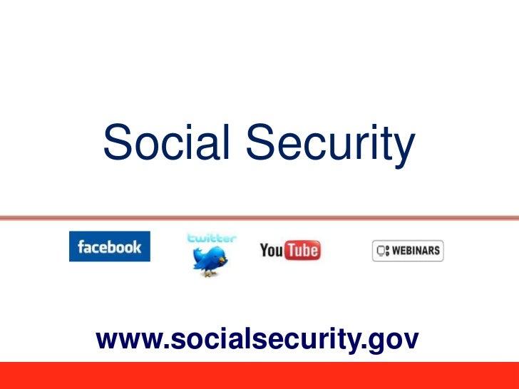 Social Securitywww.socialsecurity.gov