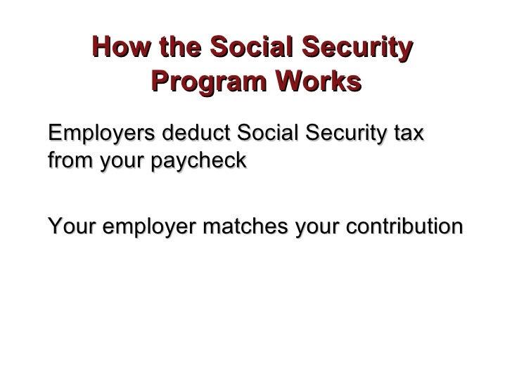 Social security roberts
