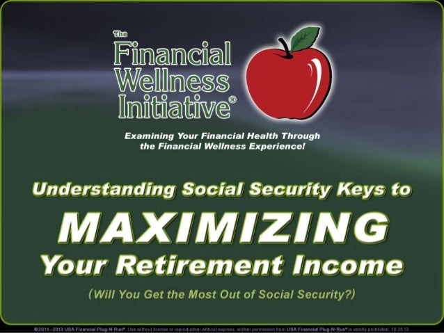 """The Financial Wellness Initiative® Examining Your Financial Health Through the Financial Wellness Experience!  """"Understand..."""
