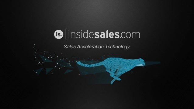 Sales Acceleration Technology
