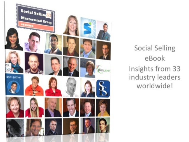 eBook: #SocialSelling MasterMind Group 33 Thought Leader Insights!