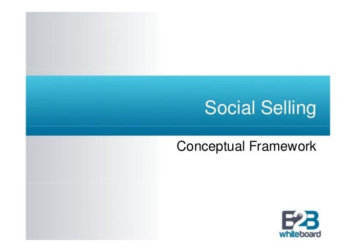 Social SellingConceptual Framework