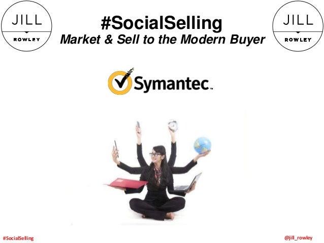 Social Selling Keynote for Symantec