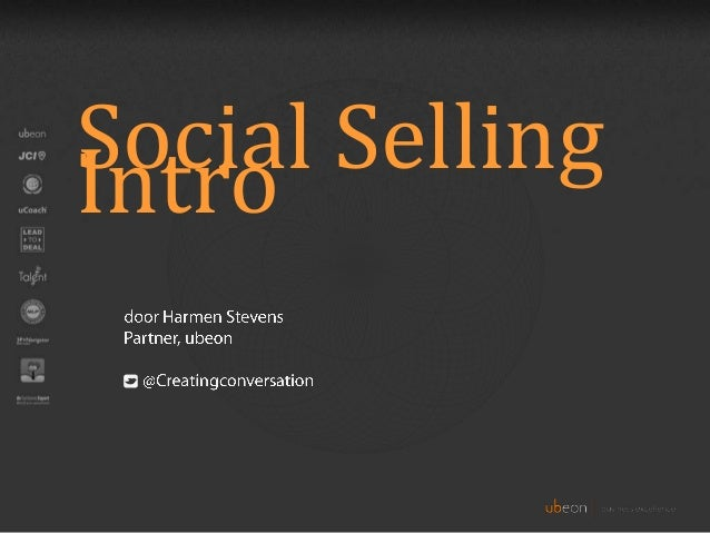 Social Selling Intro