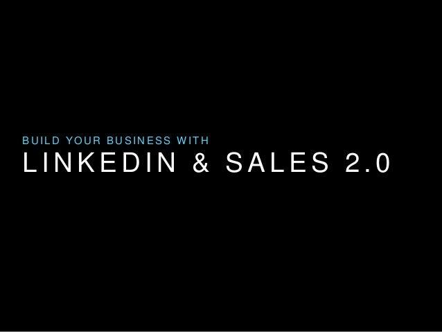 LinkedIn & Sales 2.0 Presentation at 2014 TRSA Sales & Marketing Summit