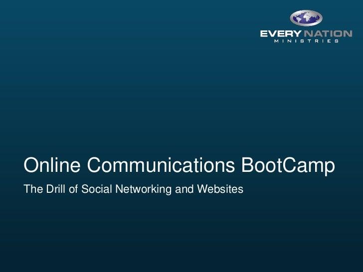 Social Seminar BootCamp 2011