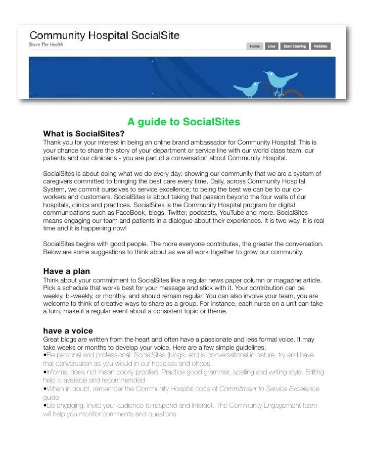Social Sharing Guide
