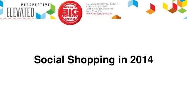 NRF Social Shopping 2014