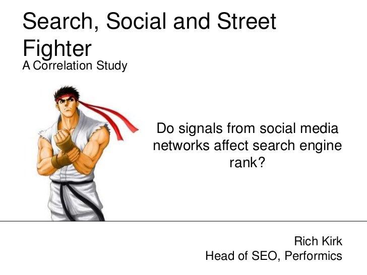 Social Signals & SEO