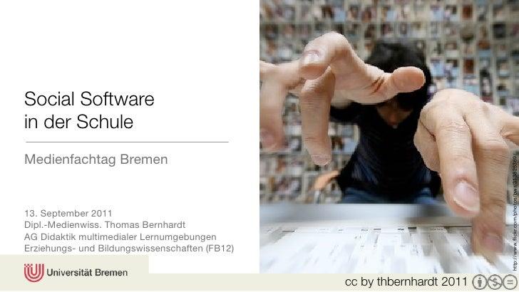 Social Softwarein der SchuleMedienfachtag Bremen                                                                         h...